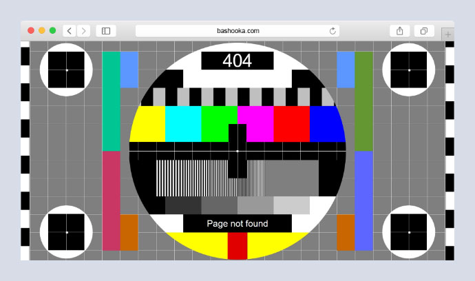 Video Test Card in pure CSS