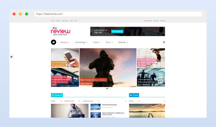 The Review: Multi-Purpose Review & Magazine Theme