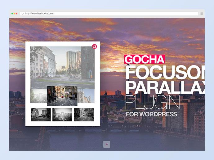 Gocha Focuson Parallax Responsive Gallery