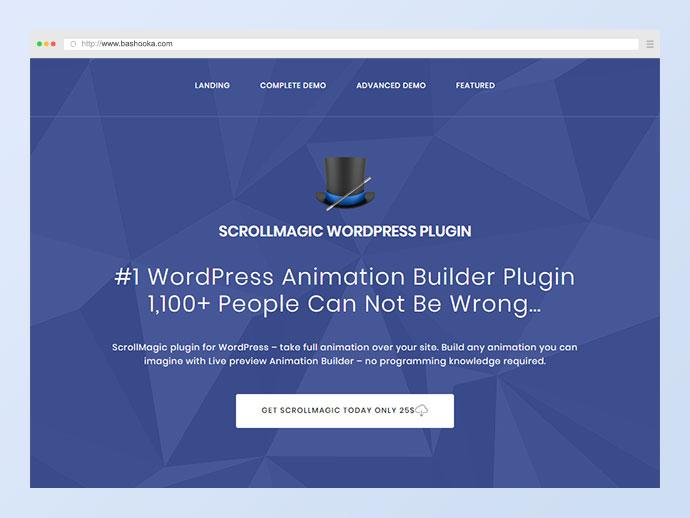 Scroll Magic WordPress - Scrolling Animation Builder Plugin