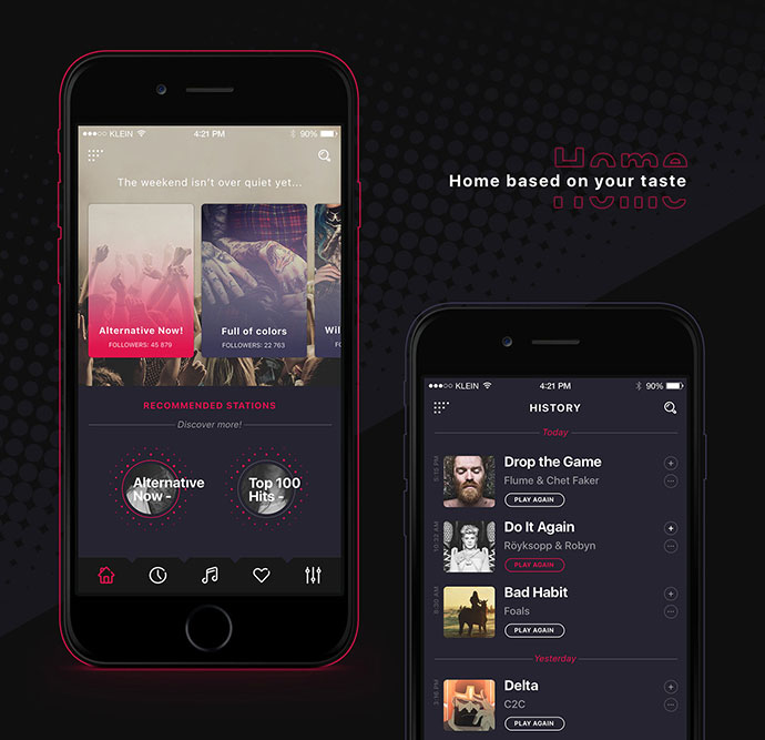 Alt Radio App