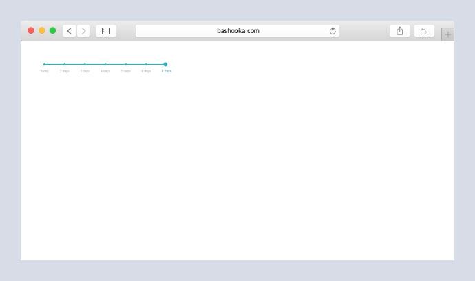 Custom range input slider with labels