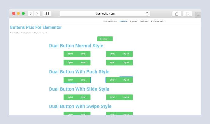 Elementor Button Plus