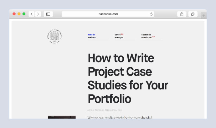 How to Write Project Case Studies for Your Portfolio