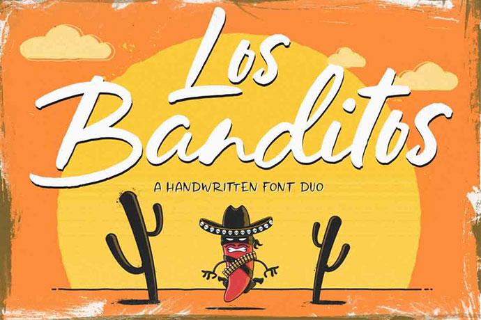 Los Banditos Font Duo