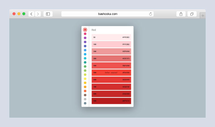 Material Color Picker