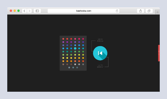 Material Icon Shadow Color Picker