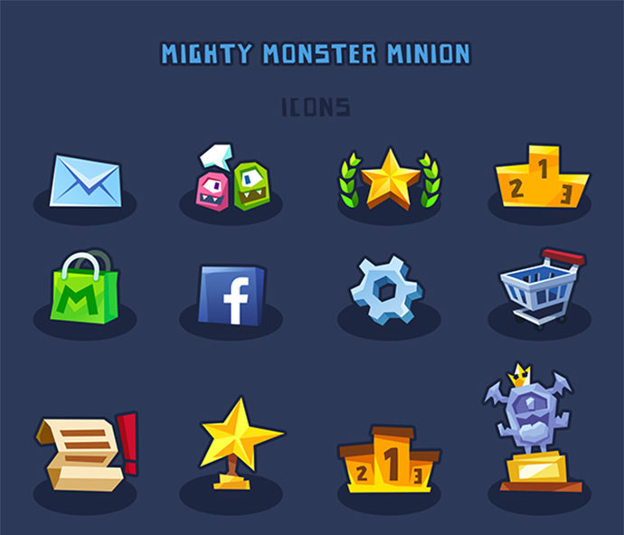 Mighty Monsters - Rise Of Minions (Ios Game)