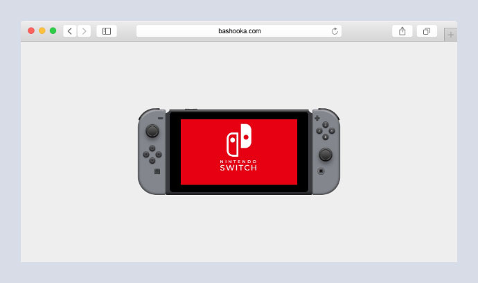 Nintendo Switch (Pure CSS)