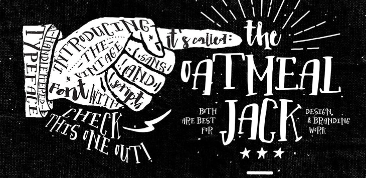 40 Extraordinary Hand Lettering Fonts For T-shirt Design