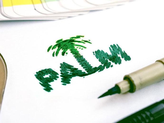 Palm - Wordmark