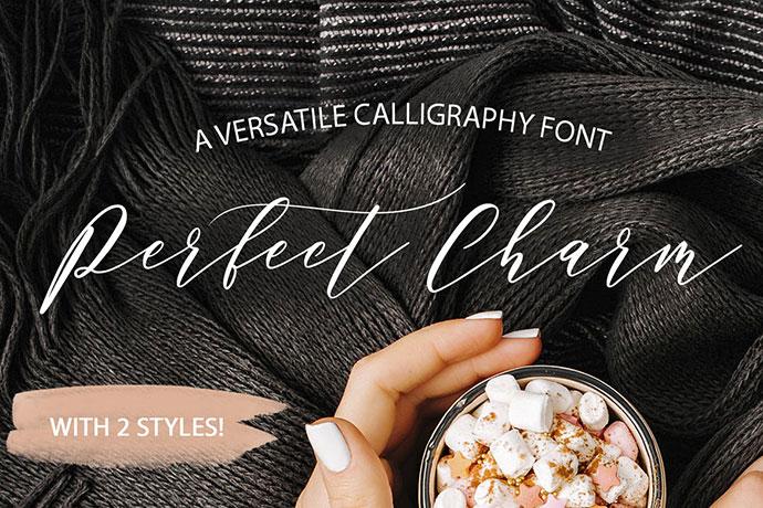 Perfect Charm - Elegant Font Script