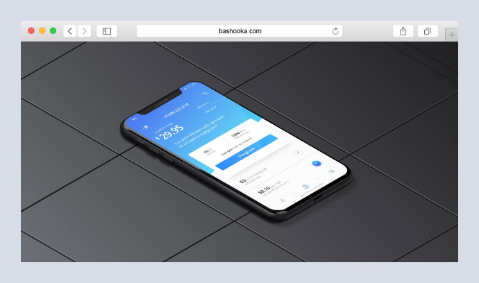 Photorealistic pure CSS mobile phone