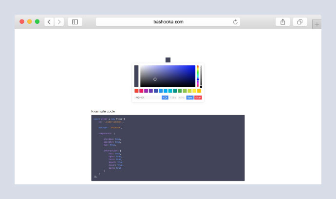 Color-Picker library