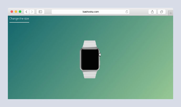 Pure CSS Apple Watch