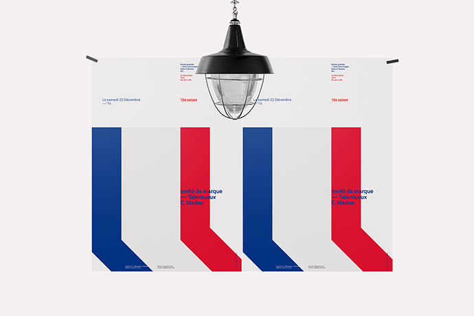 Red, White & Blue Poster