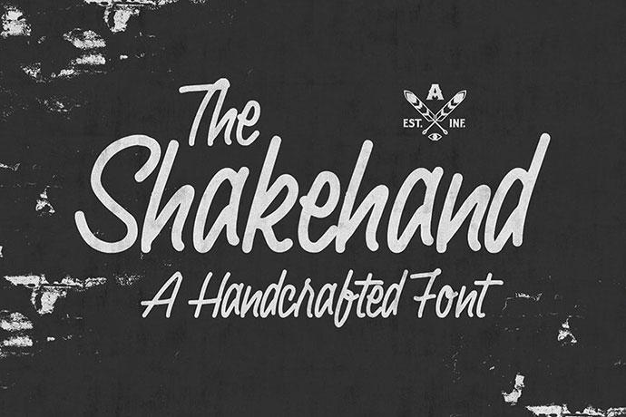 Shakehand Typeface