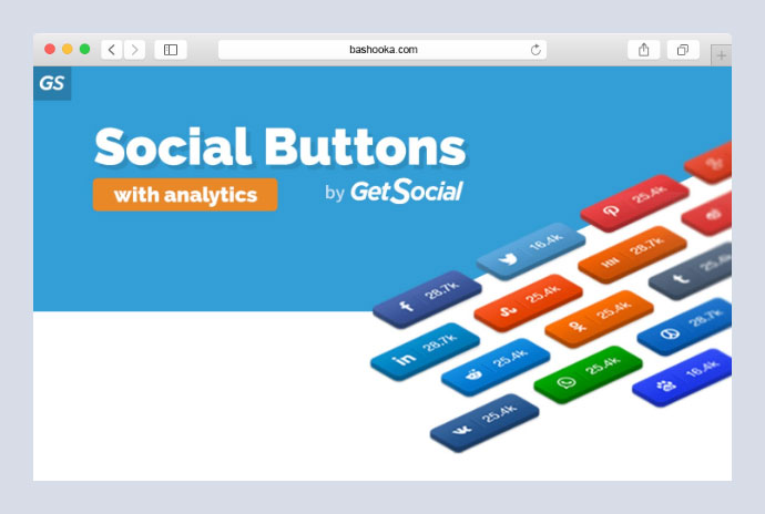 Share Buttons, Social Sharing