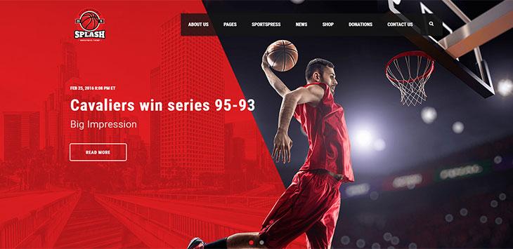 29 WordPress Themes For Sport Magazine Website