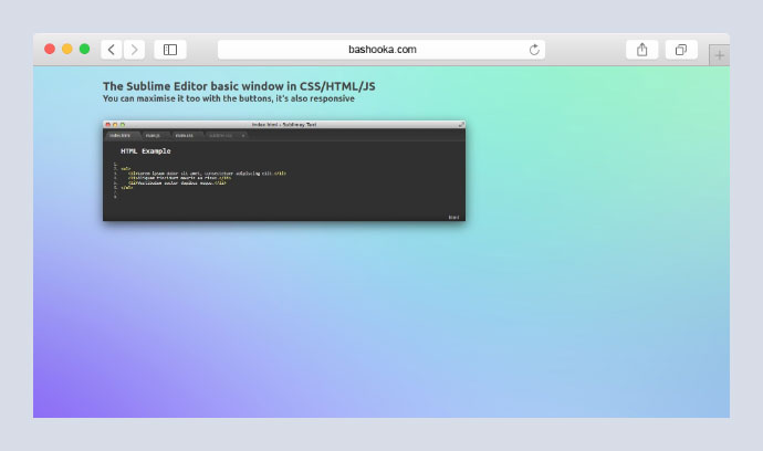 Sublime Editor