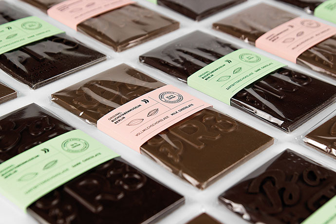 Typographic Chocolate