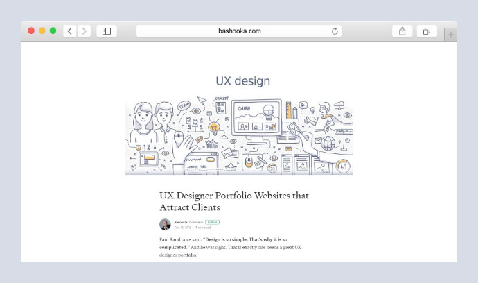 UX Designer Portfolio Websites that Attract Clients