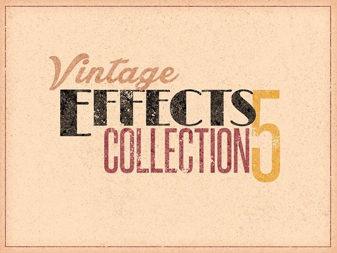 Vintage/Retro Effects Col 5