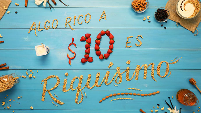 Yogurisimo Yogurt Lettering