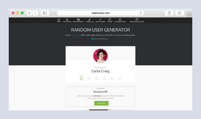 Random User Generator