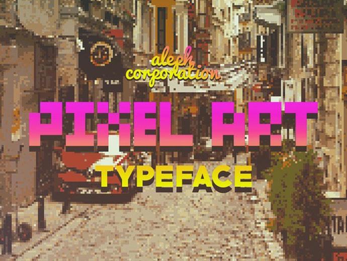 Meeting  Pixel Art Font