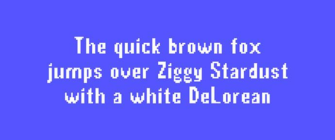 Bit Pixel Typeface