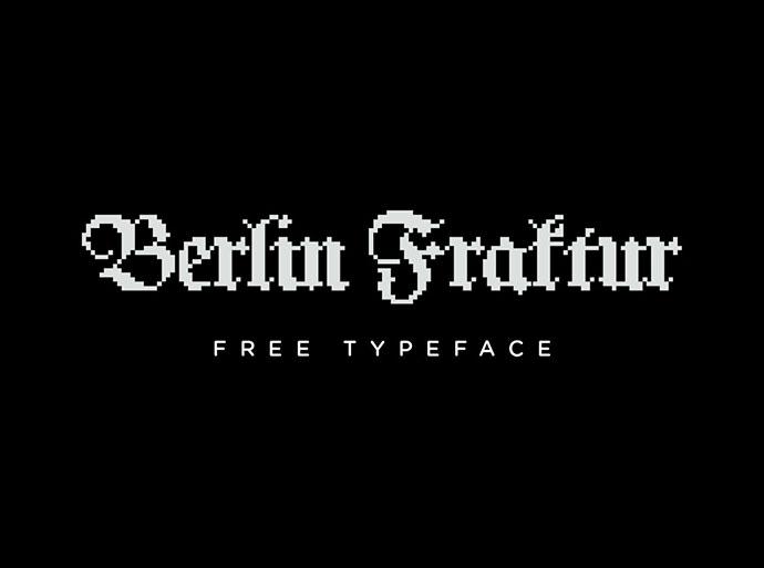 Berlin Fraktur - Free Typeface