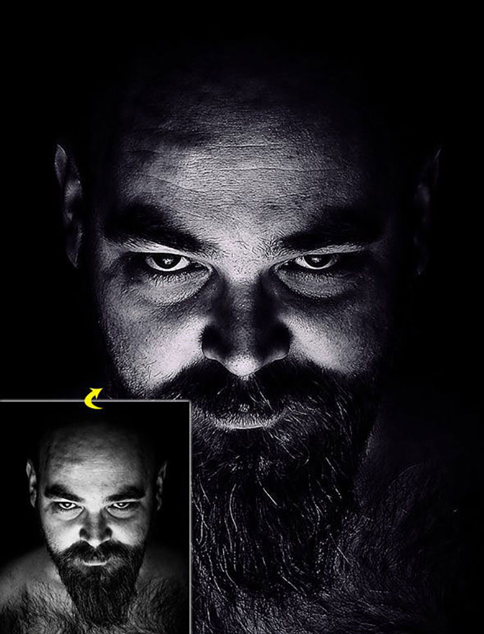 Dark HDR Photoshop Action