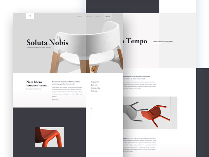 Furniture - Landing Page