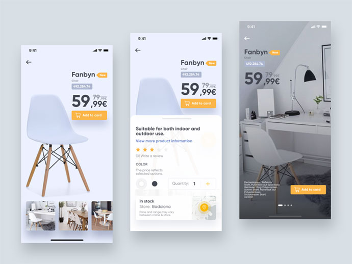 Ikea Application Concept