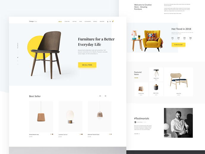 Furniture Pages