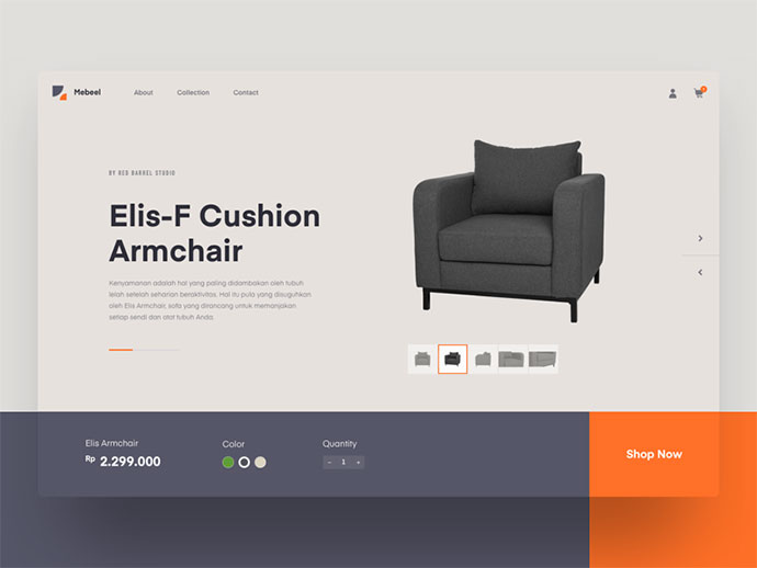 Exploration | Mebeel - Furniture Website