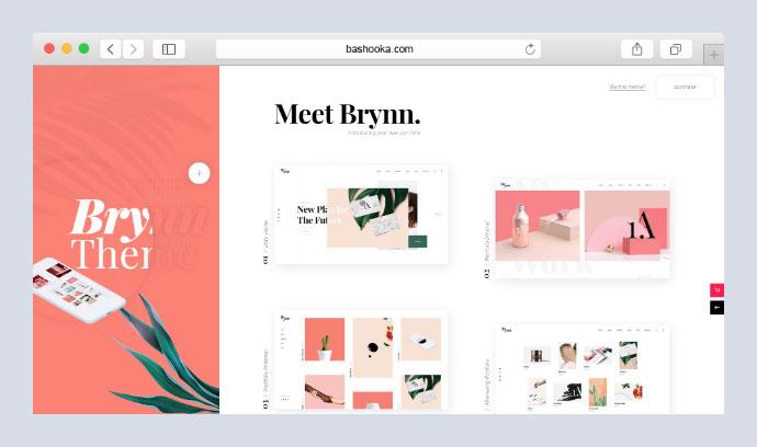 Brynn Portfolio Theme