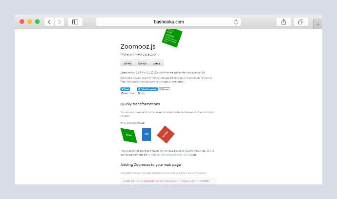 21 Zoom Javascript Libraries For Web & Mobile – Bashooka