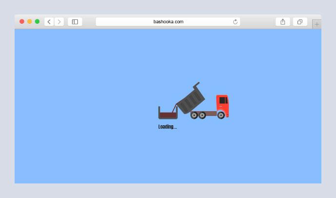 Dump Truck Loading Animation