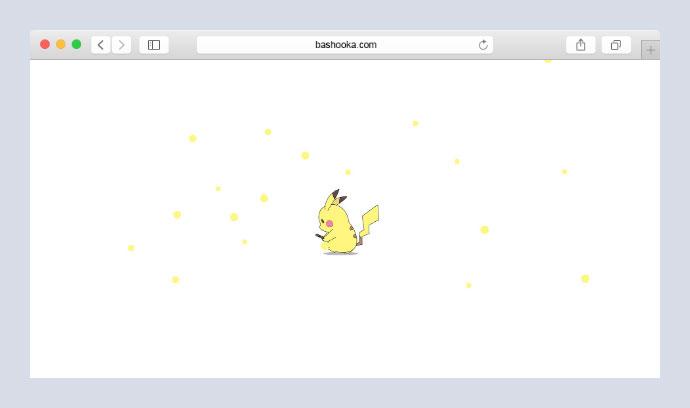 Pikachu Loading Page