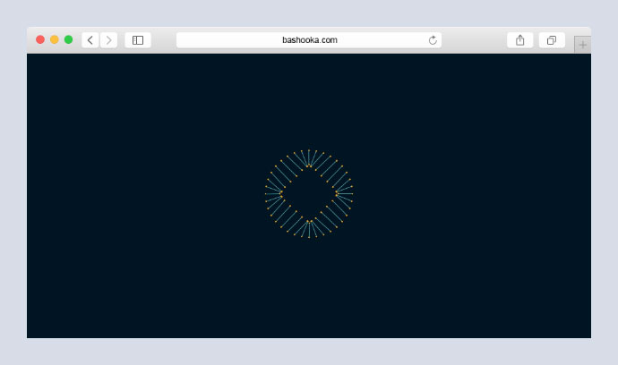 Square in a circle - Loading Animation