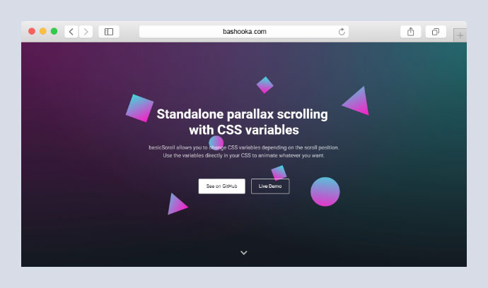 10 Cool Parallax Animation JavaScript Libraries 2019 – Bashooka
