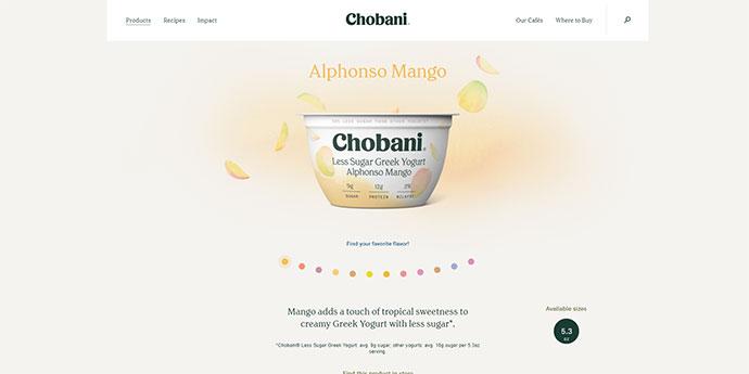 Chobani.com