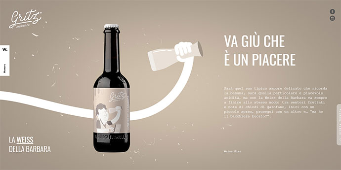 Gritz bottle transition