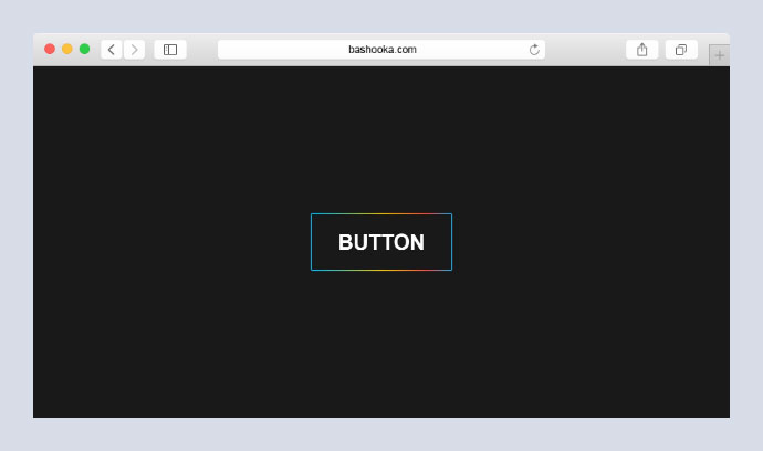 Animated Rainbow Button