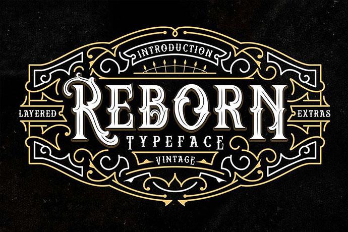 Reborn Typeface