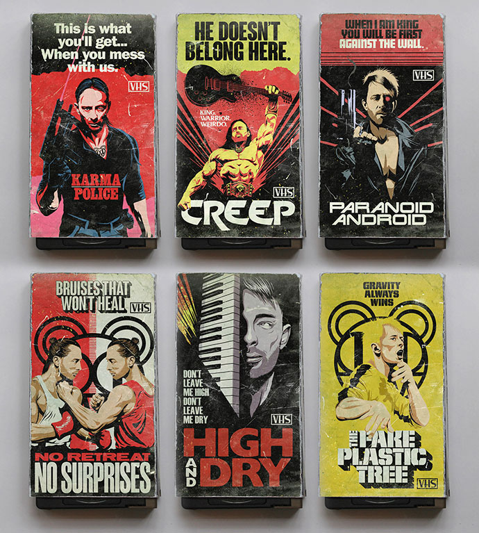 The 80's Vhs Tapes
