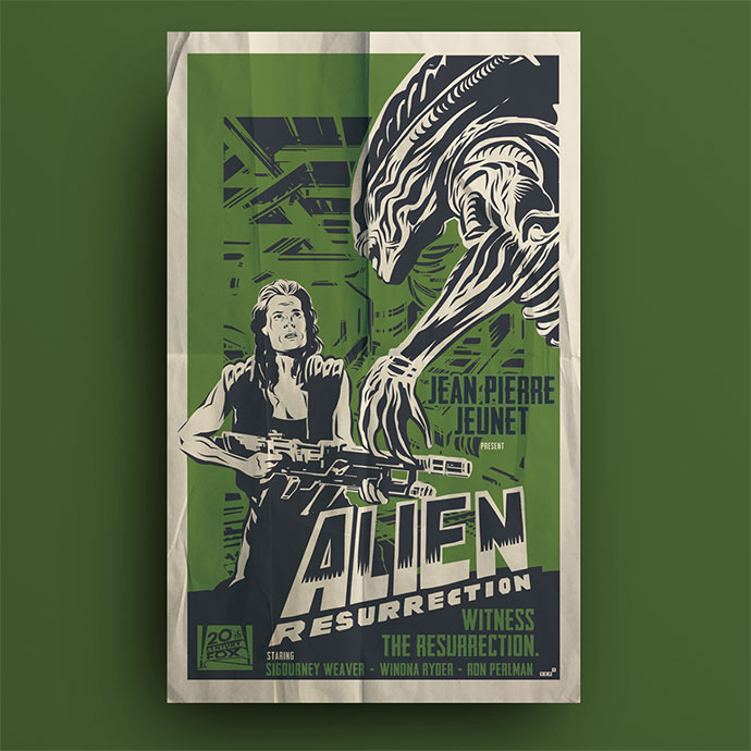 Alien's Posters