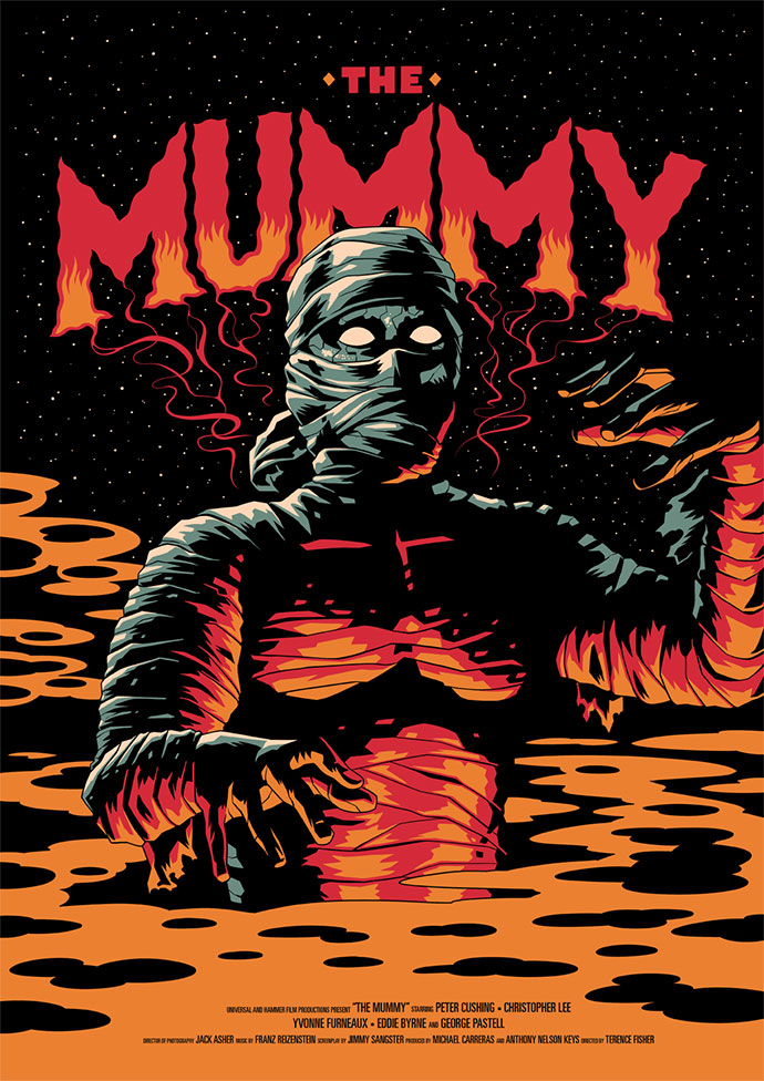 Monster Movie Poster Series